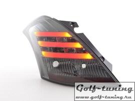 Suzuki Swift 11-13 Фонари светодиодные, тонированные