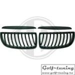 BMW E90 05-08 Решетки радиатора (ноздри) черные