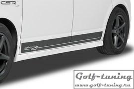 VW T5 03-15/T6 15- Накладки на пороги