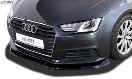 Audi A4 8W B9 15- Накладка на передний бампер vario-x
