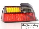 BMW E36 Купе Фонари светодиодные, красно-тонированные