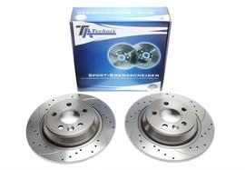 Ford Focus II/Galaxy/Kuga/Mondeo 4/S-Max/Land Rover/Range Rover Evoque Комплект спортивных тормозных дисков
