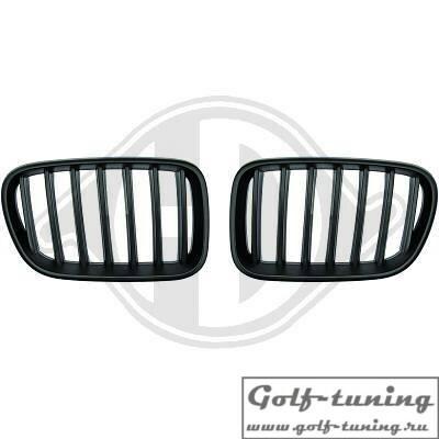 BMW X3 F25 10-14  Решетки радиатора (ноздри) черные