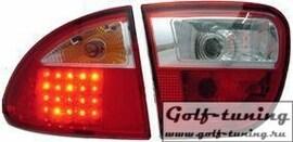 Seat Leon 1M 99-05 Фонари светодиодные, красно-белые