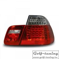 BMW E46 98-01 Седан Фонари светодиодные, красно-белые