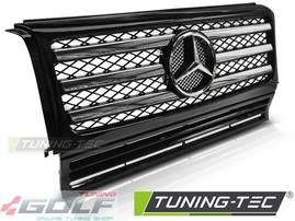 Mercedes W463 90-12 Решетка радиатора с хром полосками