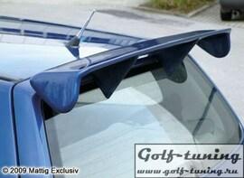 Fiat Grande Punto 05- Спойлер на крышку багажника