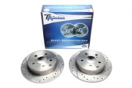 Toyota RAV 4 III+IV Комплект спортивных тормозных дисков
