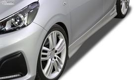 """Peugeot 108 Накладки на пороги """"GT4"""""""