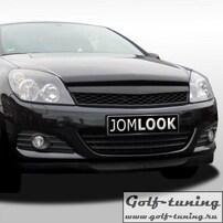 Opel Astra H GTC 3D 04-07 Решетка без значка Sport Look черная