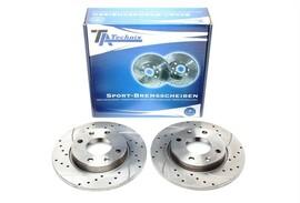 Citroen/ Peugeot  Комплект спортивных тормозных дисков