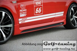 Ford Focus 04-11 3Дв Накладки на пороги