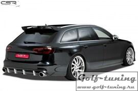 Audi A6 4G C7 S-Line 11-14 Накладка на задний бампер