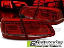 VW Passat B7 Седан Фонари светодиодные, красно-белые