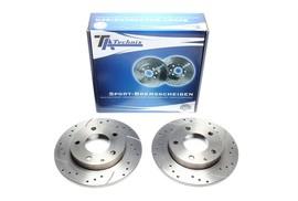 Mazda 323 Комплект спортивных тормозных дисков