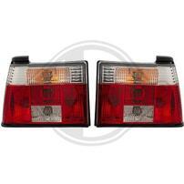VW Jetta 2 Фонари красно-белые