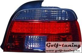 BMW E39 95-00 Седан Фонари светодиодные, красно-тонированные
