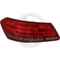 Mercedes W212 09-13 Фонари светодиодные, красно-тонированные Lightbar design