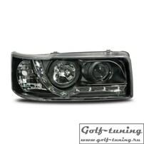 VW T4 90-96 Фары Devil eyes, Dayline черные