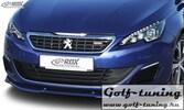 Peugeot 308 Typ L GT / GTi  Спойлер переднего бампера VARIO-X