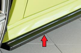Audi A3 8V 11-16/16- Sportback Накладки глянцевые на S-line пороги