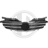 Mercedes R170 96-04 Решетка радиатора с хром полосками CL Look