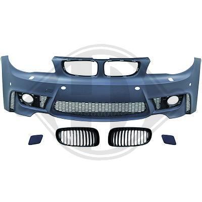 BMW E81/ E82/ E87/ E88 04-11 Передний бампер Evo 1 Look