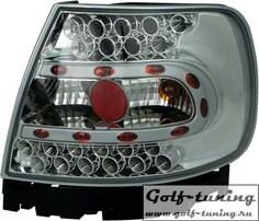Audi A4 B5 95-00 Фонари светодиодные, хром
