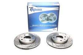 Hyundai Elantra/Matrix 00-10 Комплект спортивных тормозных дисков