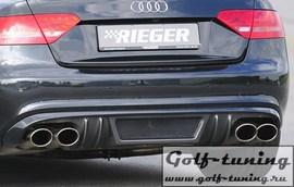 Audi A5 B8/B81 07-11/11-16 2,7l/3,0TDI/4,2l Глушитель rieger