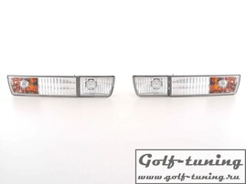 VW Golf 3, VW Vento Поворотник +фальшивая ПТФ, хром