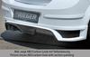 Opel Astra H 5D Накладка на задний бампер