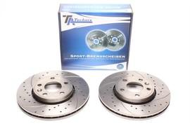 Nissan Primastar/Opel Vivaro/Renault Trafic II Комплект спортивных тормозных дисков