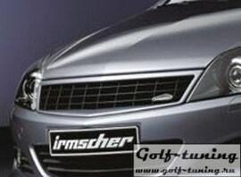 Opel Astra H GTC 3D 07- Решетка без значка черная