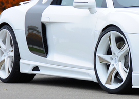Audi R8 07- Накладки на пороги
