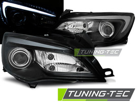 OPEL ASTRA J 09-15 Фары tube light черные