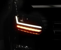 VW Amarok 10- Фары LEDriving Xenarc upgrade halogen черные