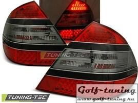 Mercedes W211 02-06 Седан Фонари светодиодные, красно-тонированные