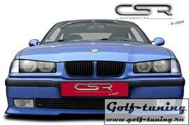 BMW E36 Седан/Compact/Cabrio/Coupe 90-00 Накладка на передний бампер
