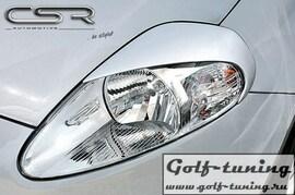 Fiat Grande Punto 199 05- Реснички на фары