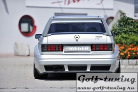Mercedes 190/W201 Седан Задний бампер breitbau
