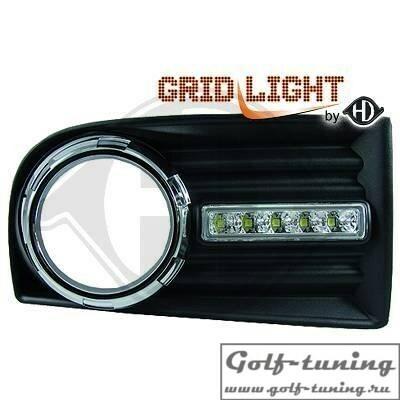 VW Golf 5 Дневные ходовые огни