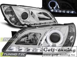 Lexus IS 01-05 Фары Devil eyes, Dayline хром