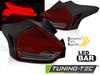 FORD FOCUS 3 15-18 Хэтчбек Фонари lightbar design красно-тонированные с бегающим поворотником