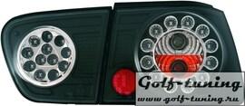 Seat Ibiza 99-01 Фонари светодиодные, черные