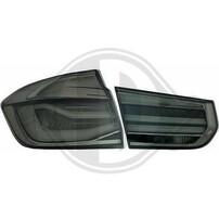 BMW F30 11-15 Фонари тонированные Lightbar design