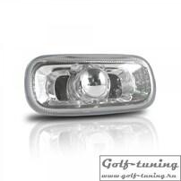 Audi A3 8P 03-08/A4 8E 00-08/ A6 4F 04- Повторители в крыло хром