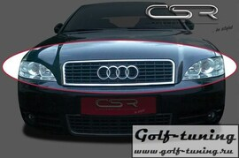 Audi A4 B6 00-04 Ресница Badlook из металла X-Line design
