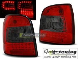 Audi A4 94-01 Универсал Фонари светодиодные, красно-тонированные