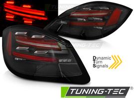 PORSCHE BOXSTER / CAYMAN 987 09-12 Фонари LED BAR с бегающим поворотником черные